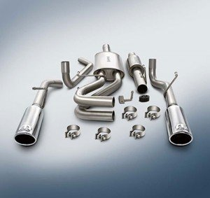 Genuine Ram Cat Back Exhaust System for Flat Bumpers